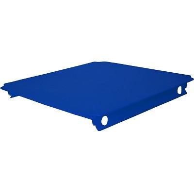 Moveandstic Platte 40x40 cm, blau