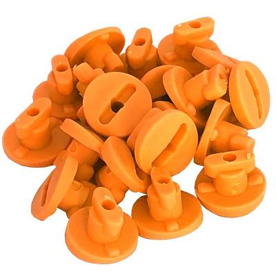 Moveandstic orange Rohrverschlüsse Rohrsicherung 20 St Zubehör MAS