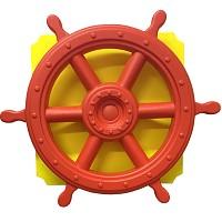 move and stic Platte 40x40 cm incl. XL Piratenlenkrad , Farben können gewählt werden