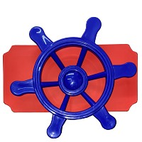 move and stic Platte 20x40 cm incl. Piratenlenkrad , Farben der Platten können gewählt werden