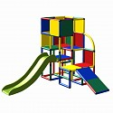 Moveandstic Julian - Spielturm mit Rutsche und Kleinkindrutsche