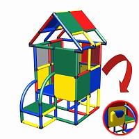 Moveandstic Billy Haus - Funktionsplatte mit Briefkasten benetton