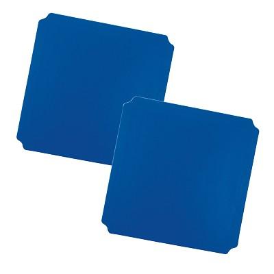 Moveandstic 2er Set Platte 40x40 cm, blau