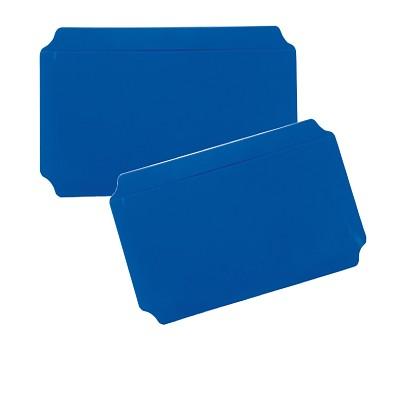 Moveandstic 2er Set Platte 20x40 cm, blau