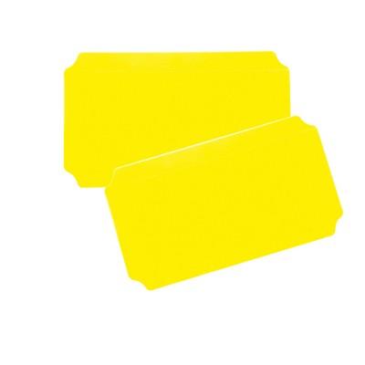 Moveandstic 2er Set Platte 20x40 cm, gelb