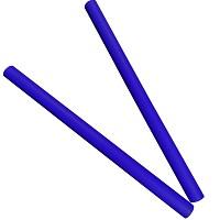 Moveandstic 2er Set Rohr 75 cm, blau