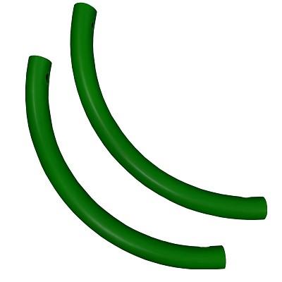 Moveandstic 2er Set Rohrbogen, grün