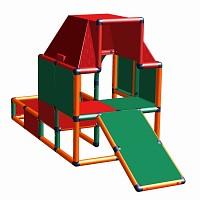 Moveandstic Fabian - Spielhaus mit Kleinkindrutsche