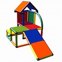Move and stic Mila - mein kleines Haus mit Schräge multicolor