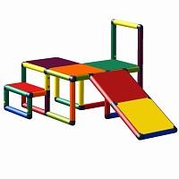 Moveandstic Sissi - Kletterplattform mit Kleinkindschräge multicolor