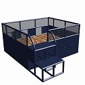 Move and stic Ballcenter 285 x 245 x 125 cm titangrau