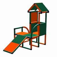 Moveandstic Levi - Turm mit Kleinkindrutsche