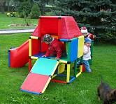 Moveandstic Spielhaus Garten