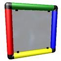 Moveandstic Plexiglasplatte 35x35 cm