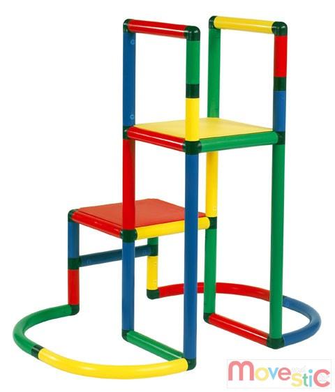moveandstic starter baukasten kletterturm stecksystem. Black Bedroom Furniture Sets. Home Design Ideas